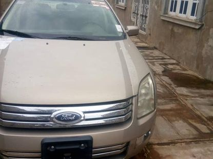 Ford Fusion 2007 Gold for sale