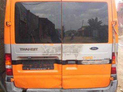 Ford Transit 2002 Orange for sale