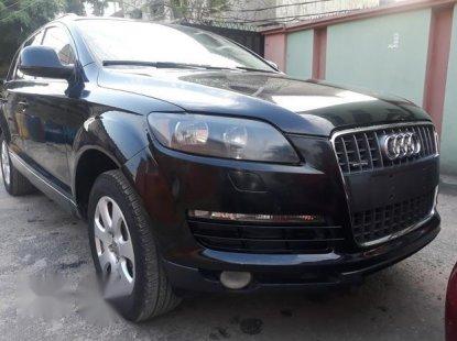 Clean Nigerian Used Audi Q7 2008 Black for sale