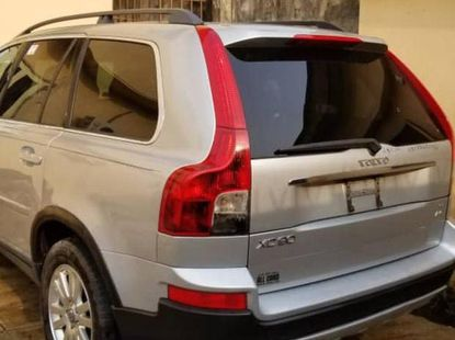 Volvo XC90 2008 Silver for sale