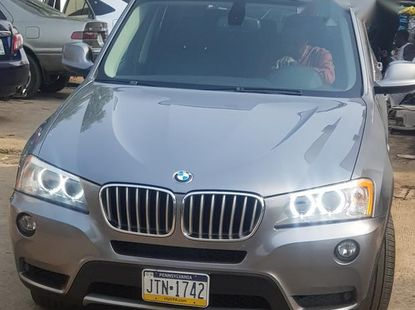 BMW X3 2012 Gray for sale