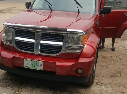 Used Dodge Nitro 2007 Red for sale