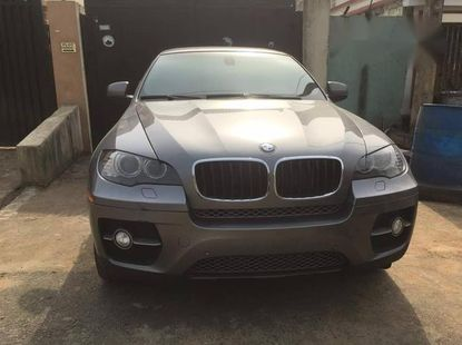 BMW X6 2012 Gray for sale