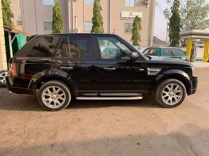 Range Rover 2008 Upgraded To 2012 Black for sale
