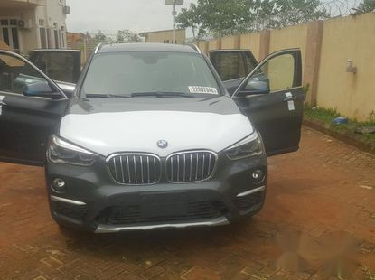 Bmw X1 2017 Gray for sale
