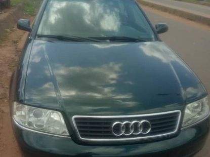 Audi A6 Wagon 2003 Green for sale