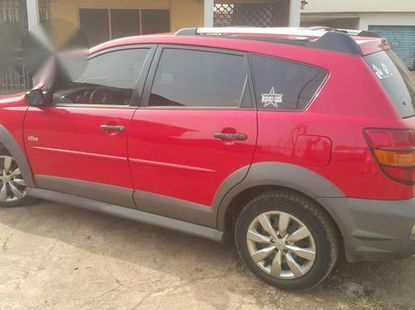 Pontiac Vibe Automatic 2004 Red for sale