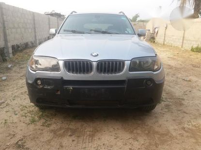 BMW X3 2004 2.5i Sports Activity Silver for sale