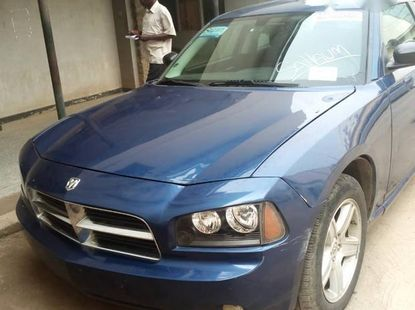 Clean Dodge Charger 2009 Blue for sale