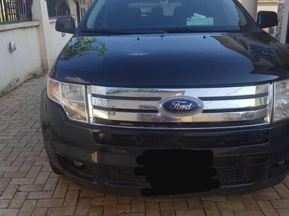 Clean Ford Edge 2009 Black for sale