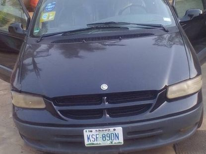 Chrysler Voyager 2002 Automatic Black for sale