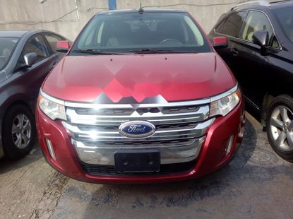 Ford Edge 2012 Petrol Automatic Red for sale