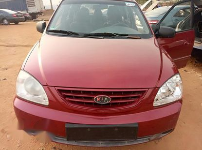Kia Carens 2003 Red for sale