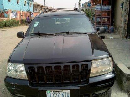 Jeep Grand Cherokee 1999 Black for sale