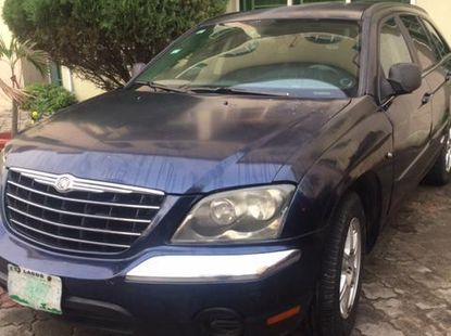 Chrysler Pacifica 2009 Blue For Sale