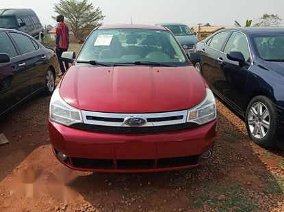 Ford Focus 2010 Red for sale