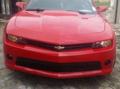 Chevrolet Camaro 2015 Red for sale