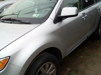 Ford Edge 2010 Silver for sale