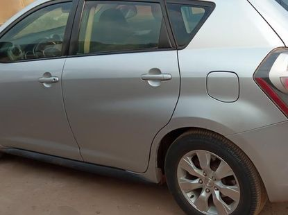 Clean Pontiac Vibe 2010 Silver for sale