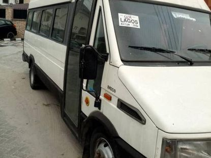 Clean Tokunbo Iveco 19042 2001 White for sale