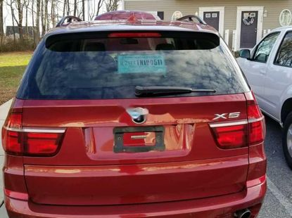 BMW X5 2011 Red for sale
