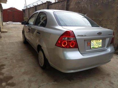 Chevrolet Aveo 2006 Silver for sale