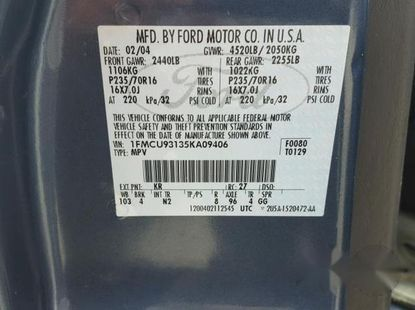 Ford Escape XLT 2005 Blue for sale