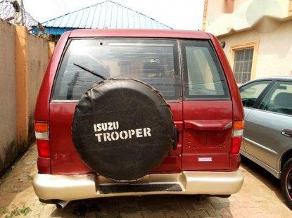 Isuzu Trooper 2000 Red for sale