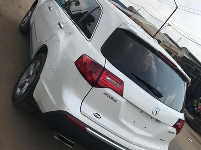 Acura MDX 2011 White for sale