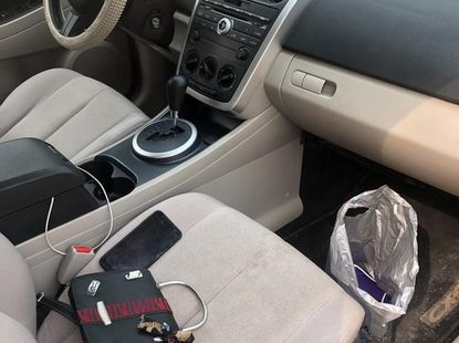 Clean Mazda CX-7 2007 White for sale