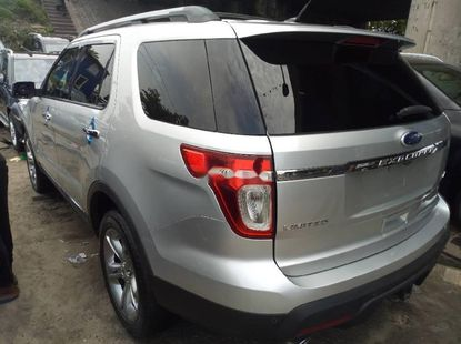 2013 Ford Explorer Silver for sale