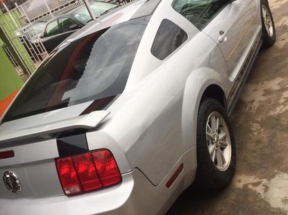 Ford Mustang 2007 Silver for sale