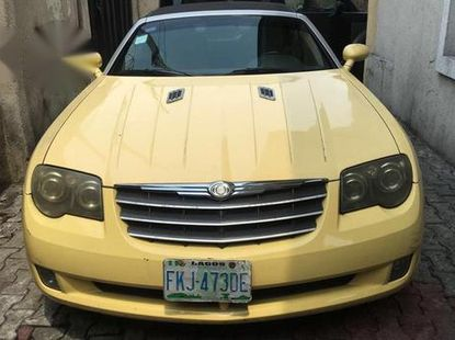 Chrysler Crossfire Coupe 2005 Yellow for sale