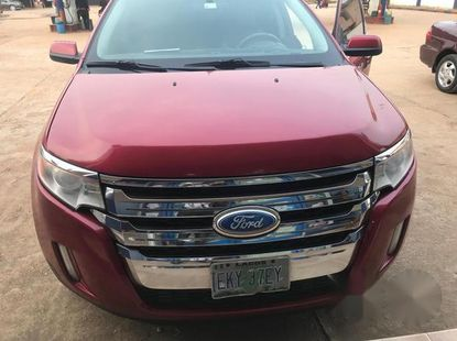 Ford Edge 2013 Red for sale
