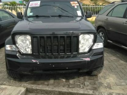 Jeep Liberty 2009 Black for sale