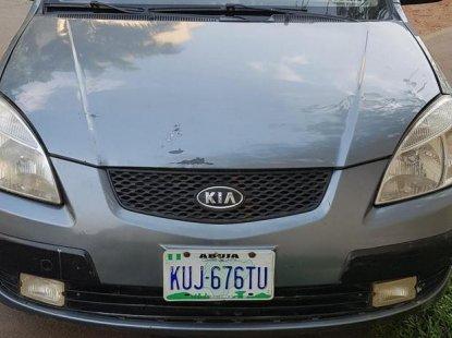 Kia Rio 2008 1.6 Gray for sale