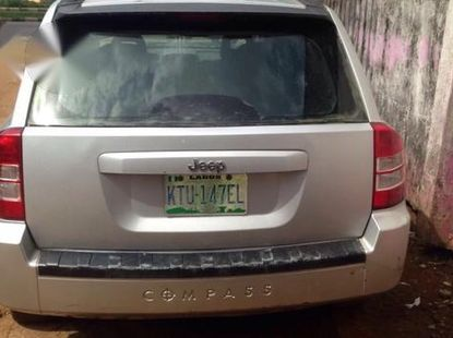 Jeep Compass 2010 Gray for sale
