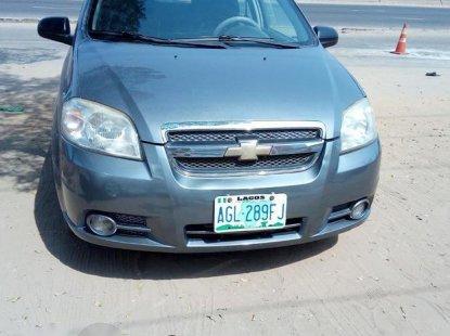 Chevrolet Aveo 2014 Gray for sale