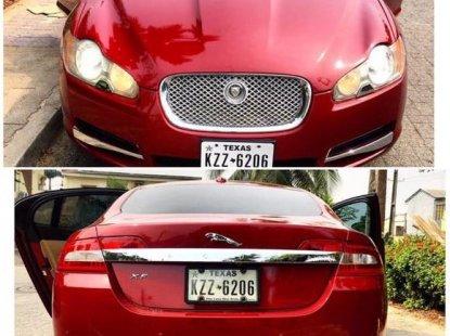 Jaguar XF 2010 Red for sale