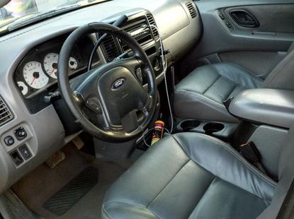 Ford Escape 2002 Yellow for sale