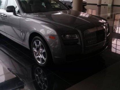 Rolls-royce Ghost 2011 Silver