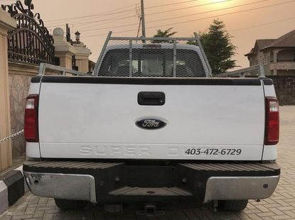 Ford F-250 2008 White for sale