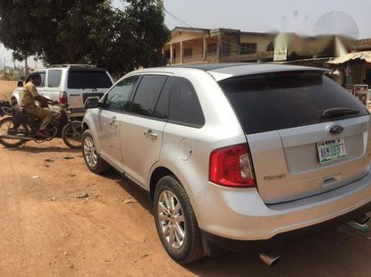 Ford Edge 2011 Gray for sale