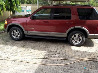 Ford Explorer 2002 Red for sale