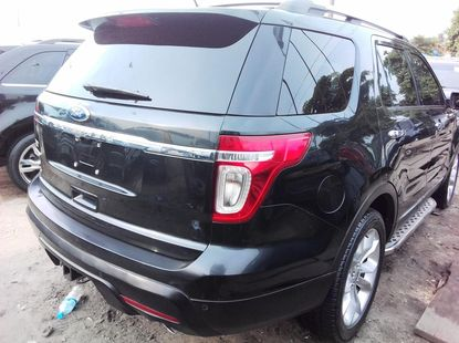 Ford Explorer 2011 Petrol Automatic Black for sale