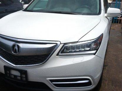 Acura MDX 2014 White  for sale
