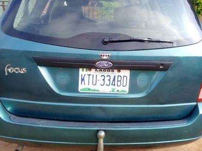 Neatly Used Ford Focus 1999 Blue for sale