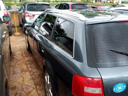 Clean Audi A6 2004 Gray for sale