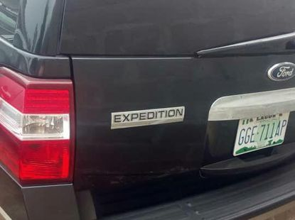 Ford Expedition 2012 Black for sale