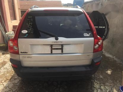 Volvo XC90 2006 2.5 T Silver for sale